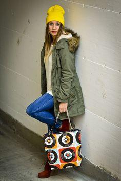 Maxi-Bag pop art style 2. www.vanessavanhandmade.etsy.com