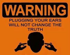 unplug your ears & open your eyes & see that Jehovah is Good. JW.org