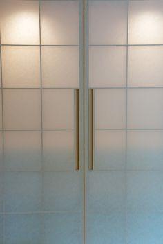 Sliding shoji (Japanese paper) doors