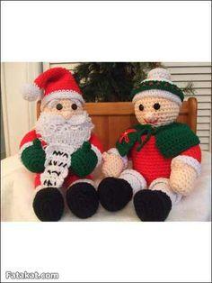 Papa Noel en compañia