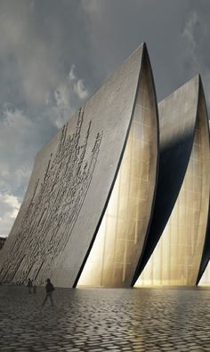 Cathedral fold design by Axis Mundi #architecture #arquitectura