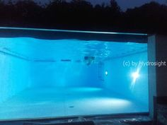 Emmerich Am Rhein, Shipping Container Swimming Pool, Pond, Swimming Pools, Glass, Wall, Places, Projects, Swiming Pool
