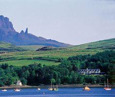Cuillin Hills Hotel (Isle of Skye, Scotland) Skye Scotland, Portree Isle Of Skye, Countryside, River, Dreams, Landscape, Sweet, Places, Lugares