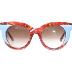 322177b303 Thierry Lasry Red Plastic Sunglasses