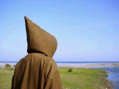 Moroccan cloak. Medieval cloak. Men's cloak. by BohemianMorocco