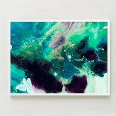 Framed Print - Magnetic I #westelm, 38 x 28