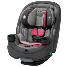 Safety 1st Grow and Go 3-in-1 Convertible Car Seat - Everest Pink - CC138DWU - Safety 1st Car Seats - Nurzery.com - 1