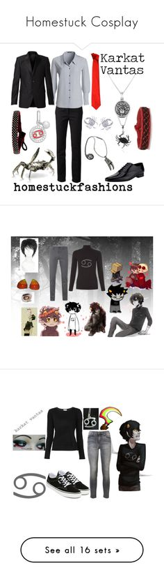 """""""Homestuck Cosplay"""" by je948al ❤ liked on Polyvore featuring 3.1 Phillip Lim, NIC+ZOE, Versace, Yves Saint Laurent, Givenchy, Journee Collection, Bjørg, Bling Jewelry, Swarovski and CO"""