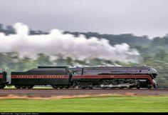 RailPictures.Net Photo: NW 611 Norfolk & Western Steam 4-8-4 at Elliston, Virginia by Mitch Goldman