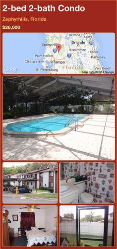 2-bed 2-bath Condo in Zephyrhills, Florida ►$26,000 #PropertyForSale #RealEstate #Florida http://florida-magic.com/properties/74562-condo-for-sale-in-zephyrhills-florida-with-2-bedroom-2-bathroom