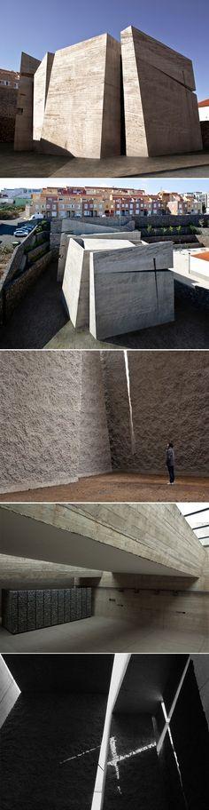 Eglise Church in La Laguna par Menis Arquitectos - Journal du Design
