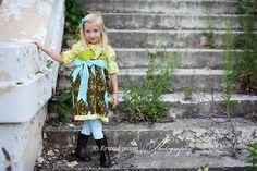 Jheri Jumper Dress girls clothing sewing PDF by TenderfeetStitches, $6.50