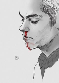 10712: Stiles by ~Creature13 on deviantART  (Stiles Stilinski, Dylan O'Brien, Teen Wolf Fanart)