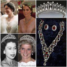 Kate Middleton participa de banquete com joias que foram de Diana e Elizabeth II | Moda | Glamurama