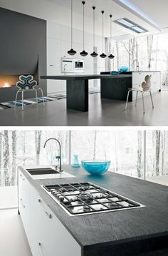 #kitchen with island AK_01 by Arrital | #design Franco Driusso