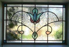 Lead light window.