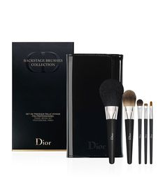 34 Makeup Brush Sets to Make Application as Easy as ABC Christian Dior Make-Up Brush Set Pouch Christian Dior Make-Up Brush Set Pouch (£82)