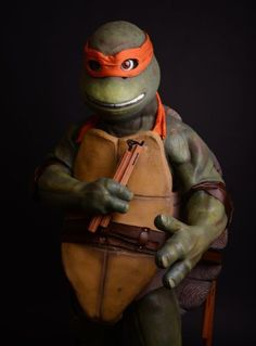 Amazing TMNT cosplay / homemade costume!  Click through for photos of the build.