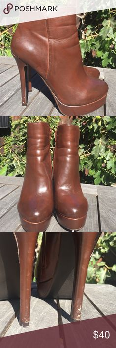 Preowned Charles by Charles David boots size 8. Preowned Charles by Charles David ankle boots size 8. They're in good condition but they have a few scuff marks on the heel & on the front inside heel see pics. Charles by Charles David Shoes Ankle Boots & Booties