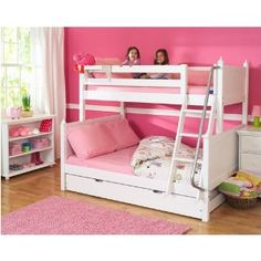 girls bunk bed