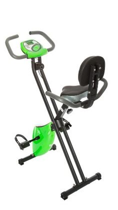 Fit Life Folding Magnetic Resistance Upright Exercise Bike with Calorie Counter $199.99 (20% OFF)