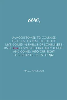 Joy - Maya Angelou Quote >>Free Printable