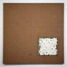 "Robert Ryman - Untitled, (""Throughout his career, Ryman has isolated the most basic components of painting and experimented with their variations. Robert Ryman, Nashville, Squaring The Circle, Pretty Art, Texture Art, Minimalist Art, White Art, Contemporary Paintings, Painting & Drawing"