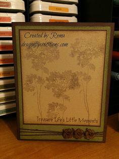 Treasure Lifes Little Moments Card