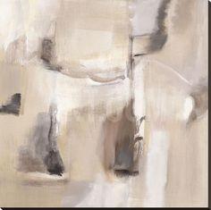 Raven Snow Stretched Canvas Print by Nancy Ortenstone at eu.art.com