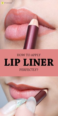 How To Apply Lip Liner Perfectly:If you don't line your lips before you apply your lipstick or lip gloss today, you're missing out on some serious benefits. Read on to find out how to apply lip liner perfectly. Lip Gloss Colors, Lipstick Colors, Lip Colors, Matte Lipstick, Maybelline Lipstick, Liquid Lipstick, Burgundy Lipstick, Lipstick Shades, Lipstick Primer