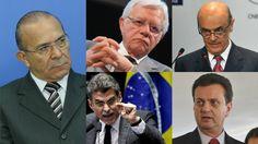 A Lista de Janot: Lula, Dilma, Mantega, Palocci, Padilha, Moreira Franco, Kassab, Renan, Eunício, Lobão, Jucá, Aécio e Serra