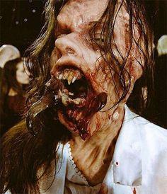Scary Halloween Make Up Horror Makeup, Scary Makeup, Sfx Makeup, Makeup Looks, Fantasy Demon, Dark Fantasy, Scary Halloween, Halloween Make Up, Special Makeup