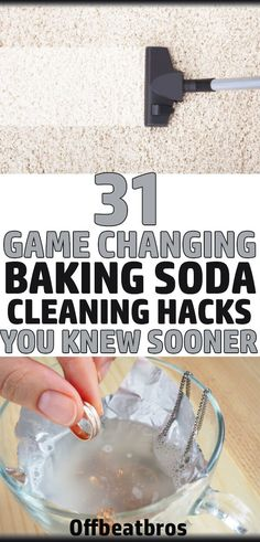 30 Genius Baking Soda Cleaning Hacks for Your Home - - . - 30 Genius Baking Soda Cleaning Hacks for Your Home – – - Bathroom Cleaning Hacks, Household Cleaning Tips, Deep Cleaning Tips, House Cleaning Tips, Green Cleaning, Natural Cleaning Products, Spring Cleaning, Natural Cleaning Solutions, Cleaning Recipes