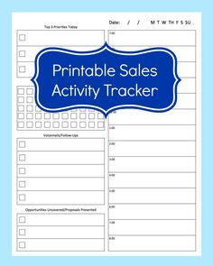 Sales Activity Tracker Daily Planner, Cold Call Tracker Template, Cold Call  Tracking Sheet, Printable Call Log, Sales Planner
