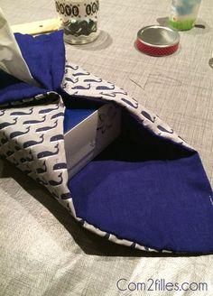 DIY couture : housse pour boite à mouchoirs