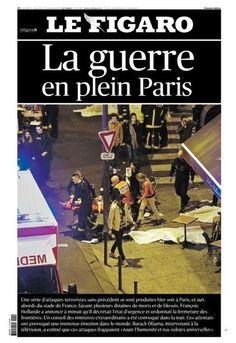 Attentats terroristes Paris 13 novembre 2015 Figaro