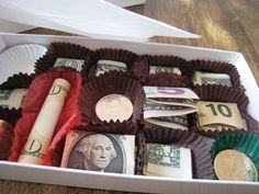 what a great way to give money! Gift Ideas