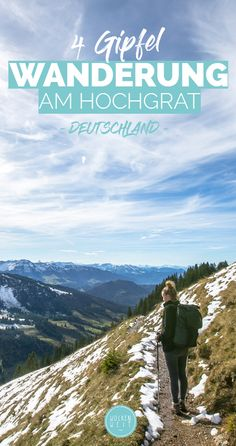 Autumn adventure in Oberstaufen - a hike on the .- Herbstabenteuer in Oberstaufen – eine am Hochgrat Hike on the Hochgrat - Europe Destinations, Camping And Hiking, Camping Hacks, Trekking, Photo Surf, Empire Romain, Les Continents, Surfing Pictures, Camping Photography