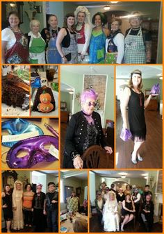 October is full of costumes and the WNC Chapter of the American Sewing Guild is no exception!  Find us on facebook/WNCAmericanSewingGuild