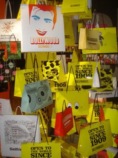 gallery of vintage selfridges shopping bags