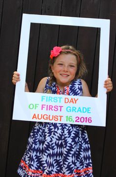 Back to School Photo ideas so you can document each year in a fun and creative way.