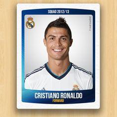 Real Madrid Collections - Cristiano Ronaldo dos Santos Aveiro