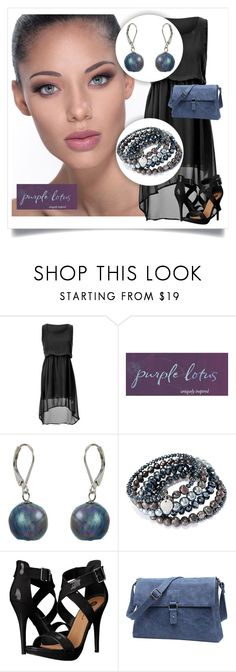 """""""SHOP - Purple Lotus Jewelry"""" by ladymargaret ❤ liked on Polyvore featuring Michael Antonio"""