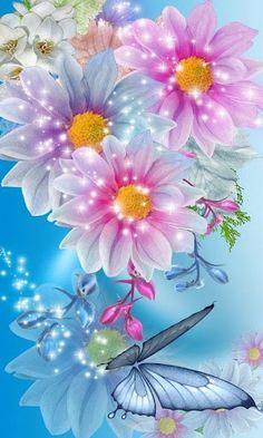 GIFS HERMOSOS: flores encontradas en la web More