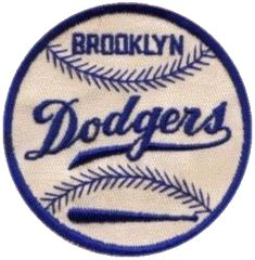 8221a68c52e38 Brooklyn Dodgers - my Dad's favorite team growing up, he never forgave them  for leaving Brooklyn