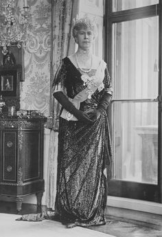 Queen Mary of the United Kingdom. 1926.