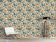 Design #Tapete Natürliche Herbst Schönheiten Bouquet, Design, Self Adhesive Wallpaper, Wall Papers, Fall, Nature, Bouquets