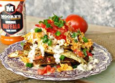 19 Wingless Ways To Satisfy Your Buffalo Chicken Addiction Buffalo Fries, Buffalo Chicken Tacos, Buffalo Chicken Meatballs, Buffalo Chicken Recipes, Chicken Fajitas, Chicken Potato Bake, Chicken Zucchini, Baked Chicken, Hand Cut Fries