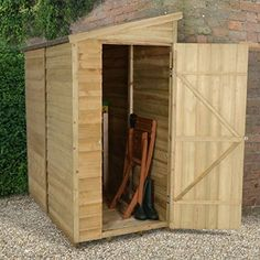 Garden Sheds 6 X 3 6x3 overlap pent pressure treated shed | garden sheds from