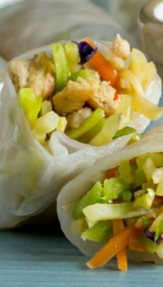 Chicken Spring Rolls Recipe